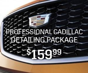 Cadillac detailing