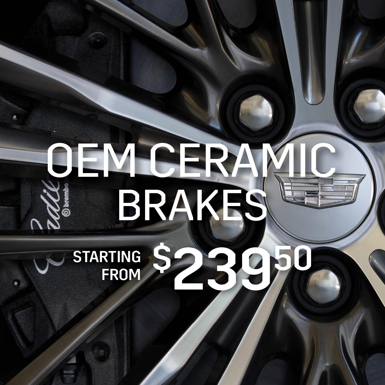OEM Ceramic Brakes
