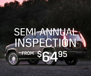 semi-annual inspection - cadillac
