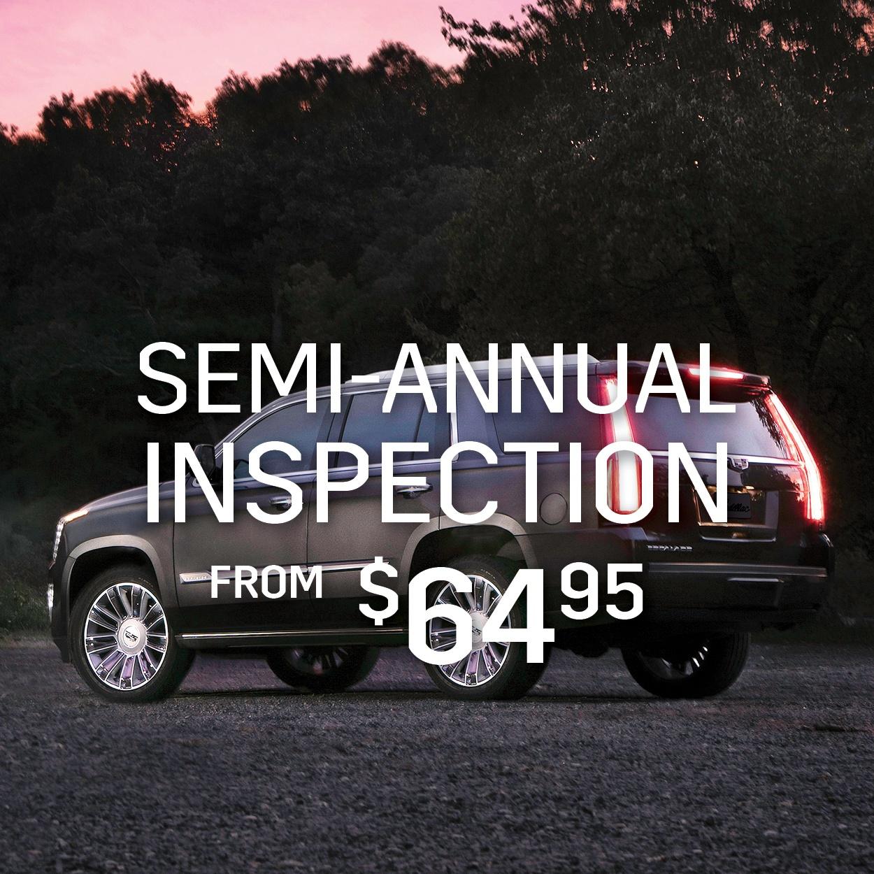 Semi-Annual Inspection