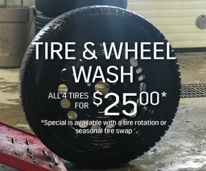 tire and wheel wash - cadillac