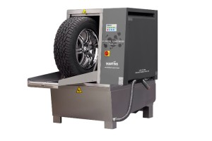 High Speed Tire and Rim Washer at OMS Cadillac